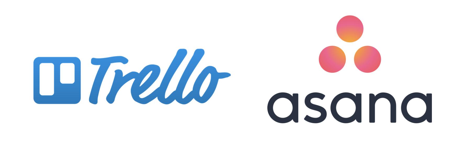 Logo Trello Logo Asana