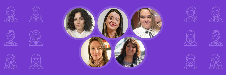 8M las mujeres en DonWeb