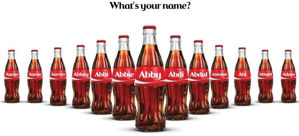 Ejemplo de Debranding Coca Cola