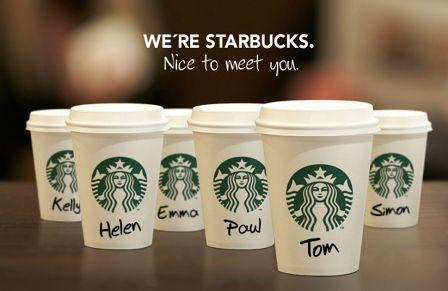 Ejemplo Debranding Starbucks