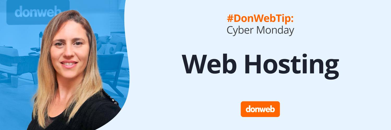 DonWebTip Hosting para Cyber Monday 2021